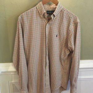 Ralph Lauren Button Down Collar Casual Shirt